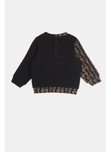 BG Baby Erkek Bebek Siyah S-Shirt 20Fw0Bg1420 Siyah